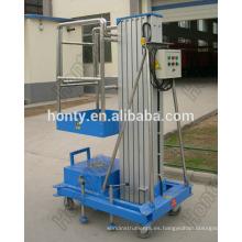Plataforma elevadora de escalera hidráulica de aluminio móvil Hontylift