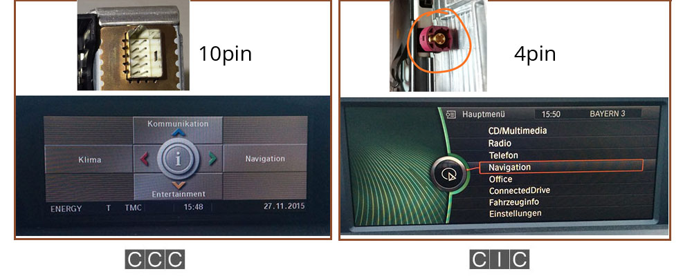 how to find it is bmw 4 pin ot 10 pin