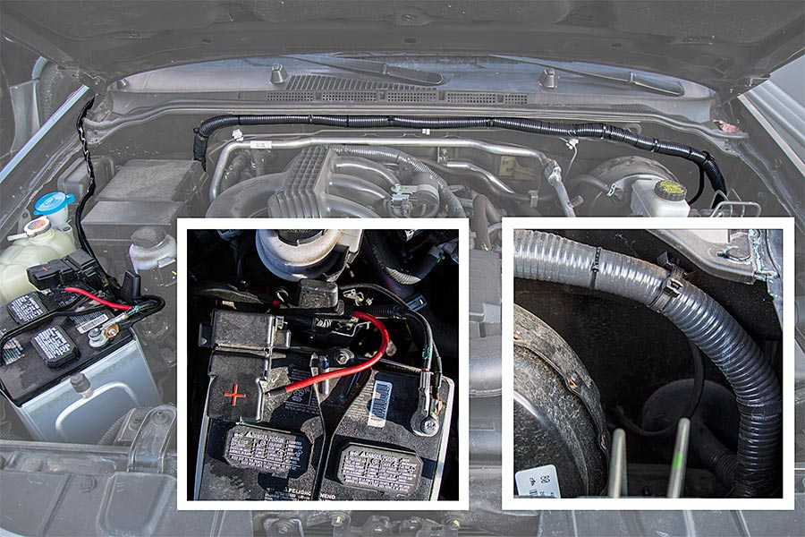 led-off-road-light-bar-work-light-wire-harness-installed-vehicle-battery-hidden-wires-how-to