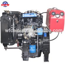 Motor diesel de 2 cilindros refrigerado por agua de 4 tiempos 2105d