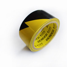 Factory supply black&yellow electrical pvc insulation insulating tape bias branded tape maker