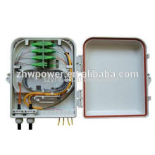 Indoor and Outdoor plastic meterial cable distribution box ,fiber optical distribution box for FTTH FTTB FTTX Network