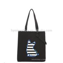 Портативный открытый мода холст пляжная сумка