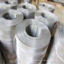 Boa malha de arame de filtro de aço inoxidável de permeabilidade do ar