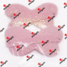 Borboleta PU couro cabelo clip mulheres cabelo ornamento presentes (PBH50828)