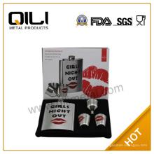 18/8 304 FDA und LFGB 7 Unzen hohe Qualität sexy Valentinstag Geschenk