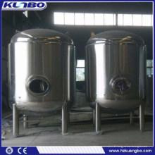 KUNBO 1000L 2000L Edelstahl Verkauf Bier Druck Lagertank Barrel