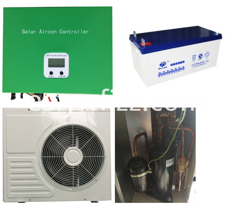Solar DC Inverter air Conditioner