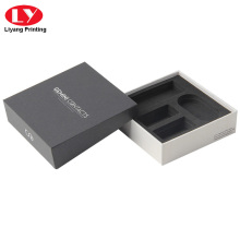Caixa de carregador de telefone celular personalizada com espuma