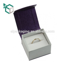 Luxury Championship Jewelry Paperring Display Box For Finger