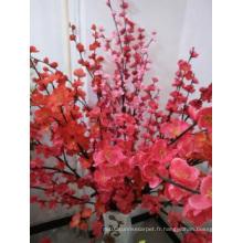 Décoration de la fleur à la décoration familiale Décoration en soie