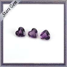Таинственный фиолетовый природный Аметист камень для ювелирных изделий