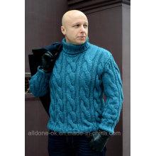 OEM роскоши высокого качества стороны трикотажные свитера свитера кардигана свитер