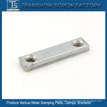 Peças de maquinaria de aço galvanizadas zinco C1035
