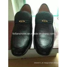 Atacado homens mais recente clássico sapatos de couro estoque de calçados de couro de negócios (ff328-6)