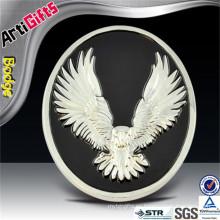 Emblema del coche de la muestra del esmalte del águila al por mayor