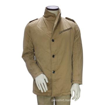 Fashion Custom Long Winter Pea Coat Jacket Outwear