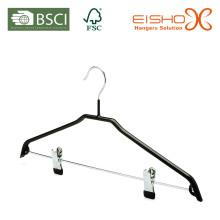 Wholesale Black PVC Metal Suit Hanger (TS216)