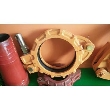 Zoomlion casted bolt clamp coupling