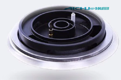 Metal Knob Gas Hob