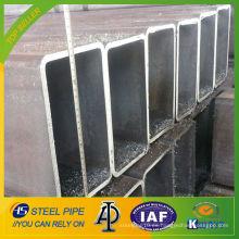 Tubo de acero cuadrado de acero al carbono