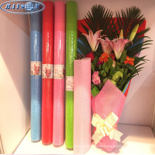 wrapping flower bouquet embossed non woven fabric flower wrapping material
