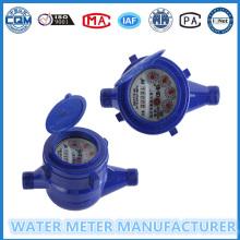 Higt Measuring und Low Price Plastic Wet Dail Kalte Wasserzähler