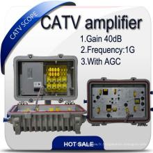 Amplificateur CATV 40db / amplificateur Hfc / amplificateur RF