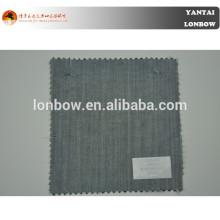 Comfort super 100's wool/silk blend fabric with oeko-tex certification