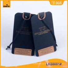 Hangtag de ropa, colgante de ropa, Hangtag de papel LH30001