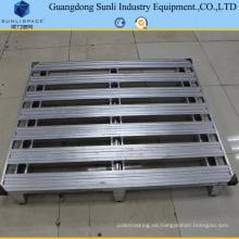 Paleta de acero galvanizado tamaño estándar de 1.5 t SGS