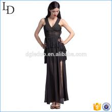 Diseño de Europa del vestido largo de lujo de las mujeres del vestido de noche para la fiesta