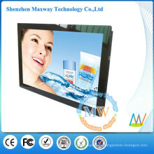 marco acrílico frontal 19 pulgadas led pantalla de publicidad