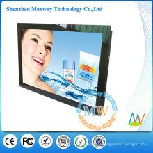 frame acrílico frontal 19 polegadas levada publicidade display