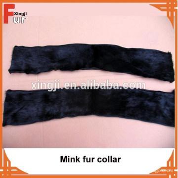 Cuello de piel de visón de calidad superior de lujo