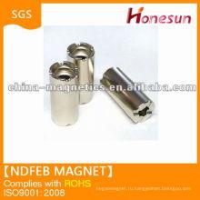 цилиндрической формы Спеченные Неодимовый магнит постоянного N35