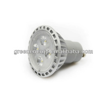 2013 CE approved gu10 greenenergy mr16 SMD 7.5w led spotlight dimmable 3 years warranty
