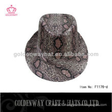 Fashion Fedora Hats Wholesale leopard sequin hats bling bling hat