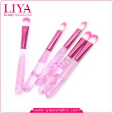 Heißer Verkauf billig rosa acylic Griff Make-up Lidschatten Pinsel
