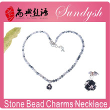 Fancy Stone Halskette Schmuck Handmade Jade Perlen Phantasie Halskette