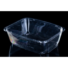 saladier en plastique jetable transparent