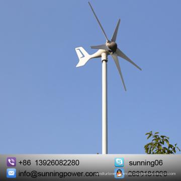 Sistemas elétricos de vento pequeno com exposição ao sol com rolamento SKF