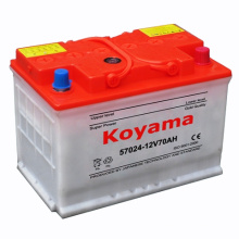57024 (12V70AH) DIN70 Dry Charged Automobile Car Battery