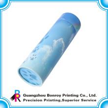 Высокого класса OEM цветастое печатание круглые коробки подарка с бесплатной доставкой