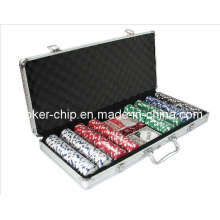 400PCS Poker Chip Set in Round Corner Aluminum Case (SY-S22)