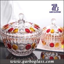 Big Glass Sugar Pot/ Jar (GB1811YD/P)