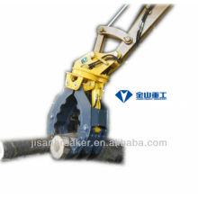 Pince hydraulique SUNWARD SWE15 SWE17, grappin de fixation de pelle, grappin à bois