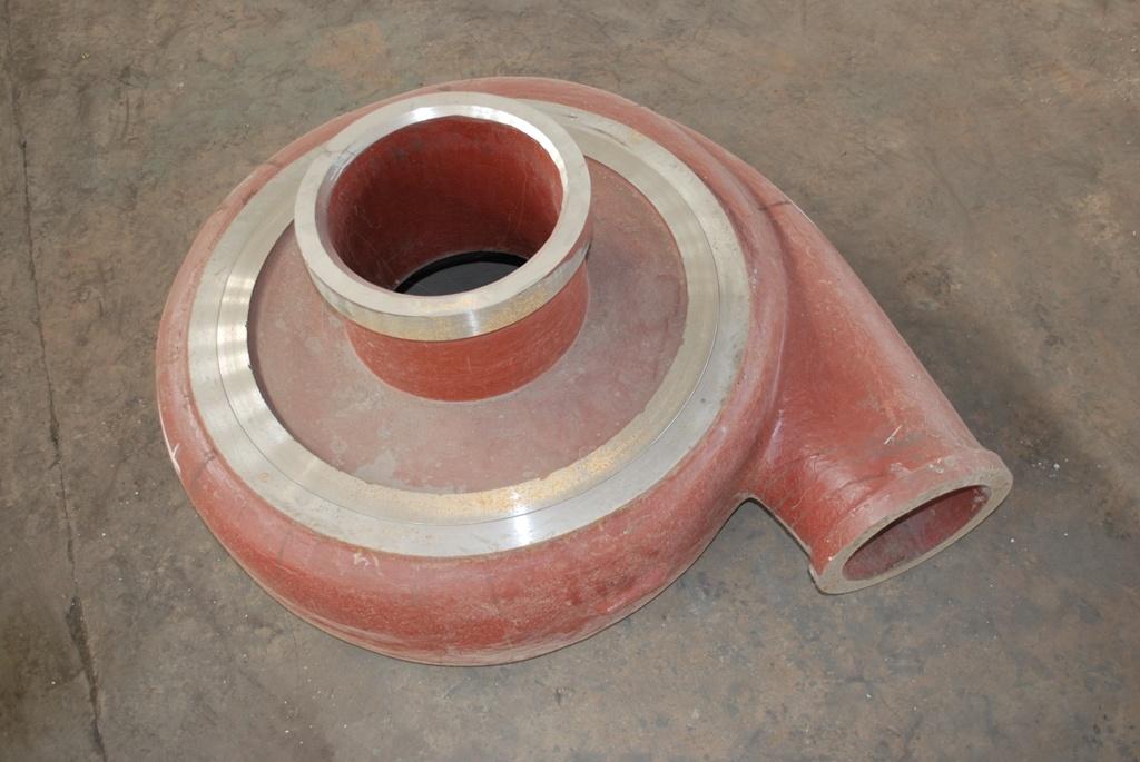 Slurry pump sheath rear & Front