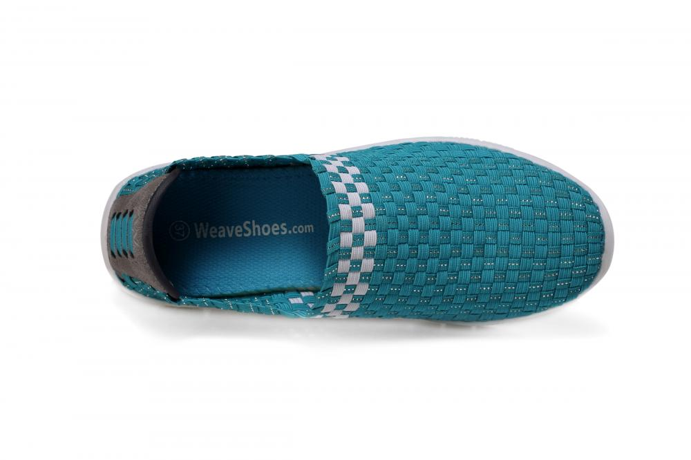 Casual Sports Look Woven Loafers