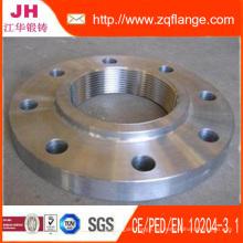 Brida de acero al carbono / acero inoxidable brida / instalación de tuberías